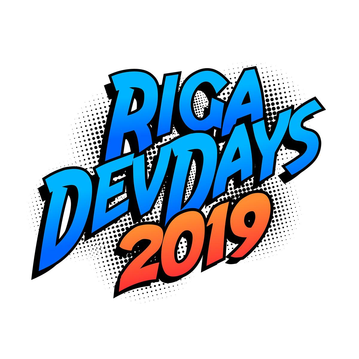 Логотип и стиль конференции «RigaDevDays 2019»